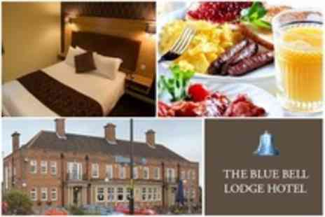 The Blue Bell Lodge Hotel - In Middlesbrough Two Night Stay For Two With Breakfast - Save 60%