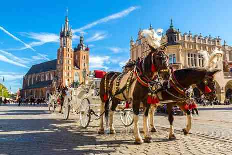 Weekender Breaks - Two nights Krakow holiday with airport transfers and return flights - Save 21%