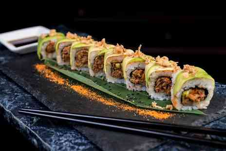 Nuvo Bar & OKO Sushi - Sushi meal for two people with a cocktail each - Save 48%