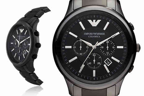 Ticara Watches - Mens Emporio Armani AR1451 chronograph watch - Save 0%