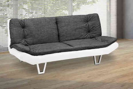 UK Furniture Zone - Sit on down our 3 in 1 fabric sofa bed deal - Save 0%