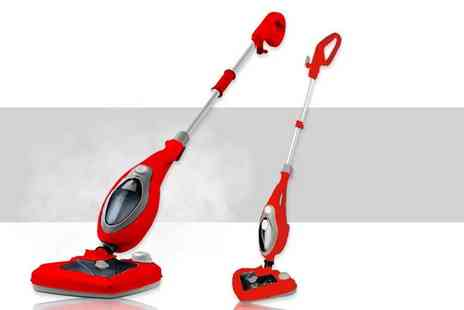 Groundlevel - 20 in 1 high powered steam mop With detergent release - Save 79%