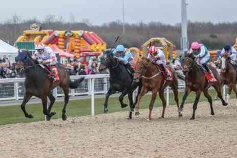 Newcastle Racecourse - Good Friday Family Race Day, Family Ticket on 19 April 2019 - Save 20%