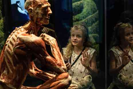 Body Worlds - Family Visit to London Museum Experience and Dining at The Rainforest Café - Save 0%