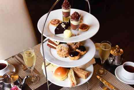 Grand Royale London - Chocolate afternoon tea and bubbly for Two - Save 0%
