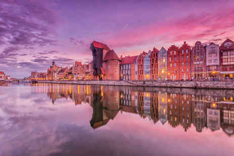 Worldwide Tours and Travel - Two nights Gdansk, Poland getaway with return flights - Save 28%