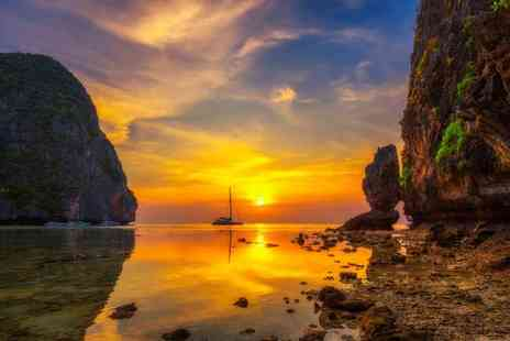 Great Pacific Travels - 10 nights Thailand break to Phuket, Krabi and Phi Phi Island, including daily breakfast, return flights and ferry transfers - Save 38%