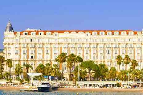 InterContinental Carlton Cannes - Lavish Five Star Glamour in Cannes for two - Save 80%