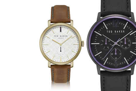 Brand Arena - Ted Baker mens watch choose from 15 designs - Save 69%