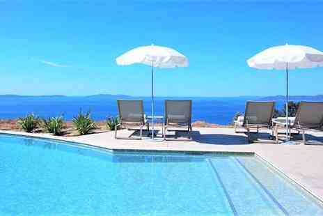 La Villa Douce - Four Star Elegant Hotel with Stunning Mediterranean Views for two - Save 67%