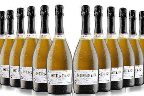 IBERVILLA FINE FOODS - 12 Bottles of Hermelo Prosecco Doc - Save 52%