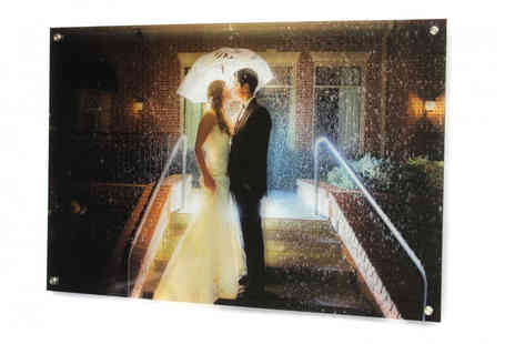 Your Perfect Canvas - Personalised acrylic glass print choose from four sizes - Save 79%