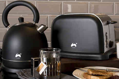 4 Your Home - Ovation toaster and kettle set choose from three colours - Save 64%
