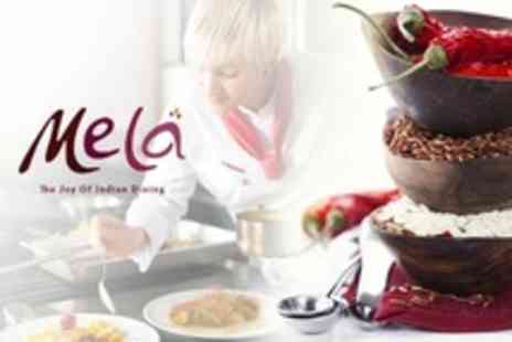 Mela Restaurant - Indian Cookery Vegetarian Course For One - Save 60%