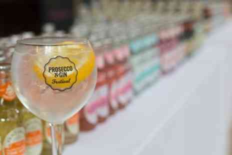 Prosecco And Gin Festival - One or two tickets to The Prosecco and Gin Festival on 2 March, 25 May and 22 June - Save 0%
