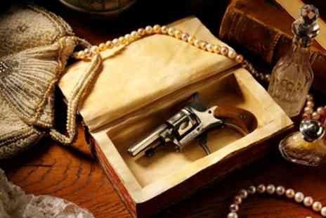 Murder Mystery - Murder mystery experience with a two course dinner for one person on 4 April To 25 May - Save 0%