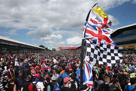Silverstone - 2019 Formula 1 Rolex British Grand Prix Race Day Grandstand Tickets for Two - Save 0%