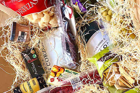 All My Wine - 14 Piece Spanish Red Wine And Food Hamper - Save 60%