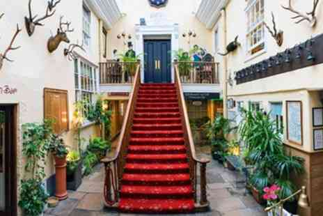 The Royal Seven Stars Hotel - Devon riverside Bed and Breakfast break - Save 52%
