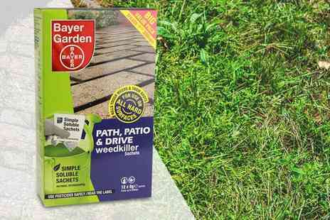 Dream Price Direct - Box of Bayer Garden path, patio and drive weed killer, Two boxes - Save 47%