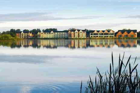 De Vere Cotswold Water Park - Overnight stay for two with spa access, breakfast and late checkout - Save 39%
