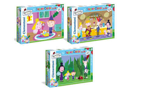 Dream Price Direct - 24 piece Ben And Holly Little Kingdom jigsaw puzzle, 60 pieces or 104 pieces - Save 32%