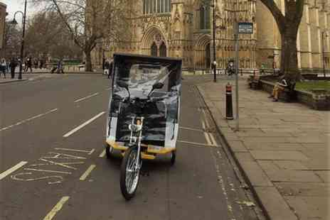 John Wright - York Carriage Awaits Evening Pedicabs Tours of Historic York - Save 0%