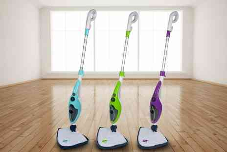 Groupon Goods Global GmbH - Neo Ten in One 1500W Steam Mop Cleaner with Optional Extra Pads - Save 73%