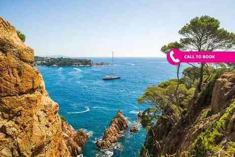 Book It Now Holidays - Two nights all inclusive Costa Brava beach holiday with return flights - Save 34%