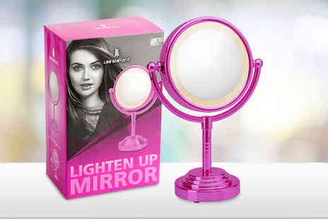 Dream Price Direct - Lee Stafford light up mirror - Save 60%