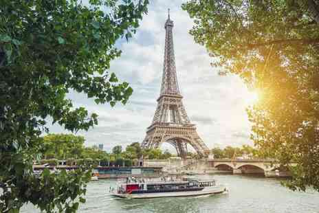 Short Breaks - Overnight Paris stay with breakfast, river cruise and Eurostar ticket - Save 30%