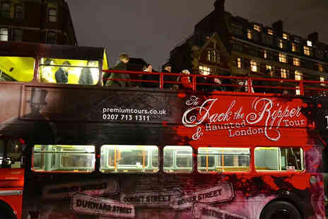 Premium Tours - Jack the Ripper, haunted London and Sherlock Holmes tour - Save 47%