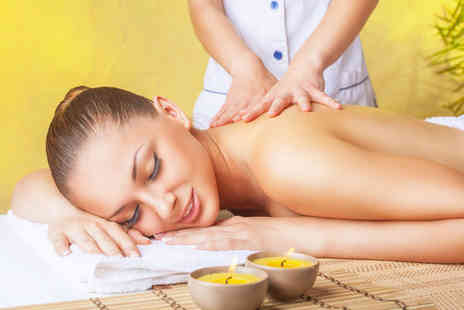 Lirio Therapy - 90 minute pamper package including a hot stone massage, body wrap and facial - Save 0%