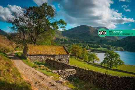 Mosscrag Guest House - Overnight Lake District escape for two people with breakfast and a bottle of Prosecco - Save 39%
