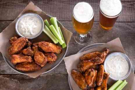 The Tipsy Cow Bar and Bistro - Pint and Chicken Wings, Pulled Pork Ciabatta or All Day Fry - Save 39%