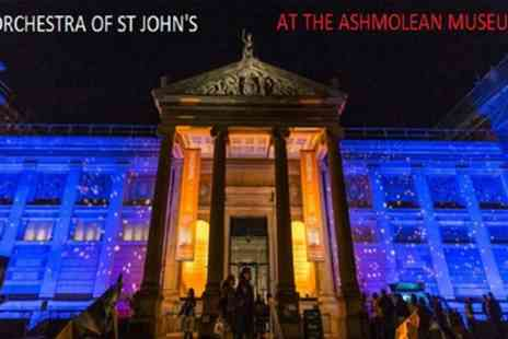 Orchestra of St Johns - One seated ticket to Orchestra of St Johns Ashmolean Proms on 20 March To 15 December - Save 50%