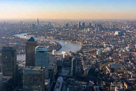 VVB Aviation - 30 minute London helicopter flying tour for one person - Save 20%