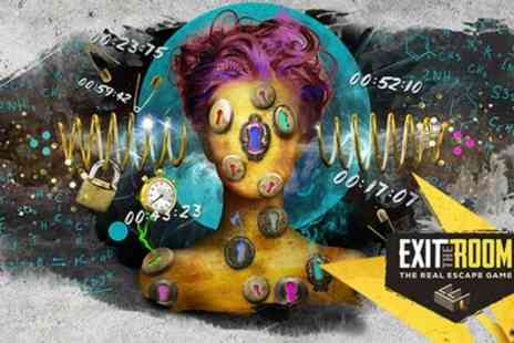 Exit the Room - Choice of One Hour Live Escape Room Game for Up to Six - Save 56%