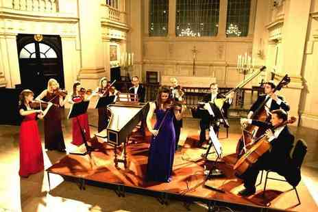Candlelight Concerts - Band D ticket to a Concerts by Candlelight performance of Vivaldi The Four Seasons by London Concertante with a CD and programme - Save 50%