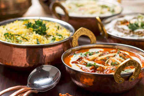 The Clay Oven - Seven dish Indian dining for two - Save 76%
