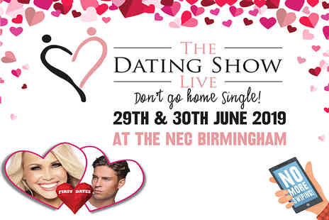 The Dating Show Live - One day ticket to The Dating Show Live - Save 46%