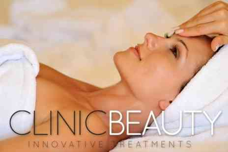 Clinic Beauty - Three Sessions of Microdermabrasion With Luxury Mask and Massage - Save 74%