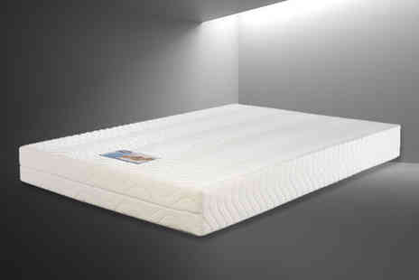 TruSleep - Soft feel Aloe Vera mattress choose from six sizes - Save 78%
