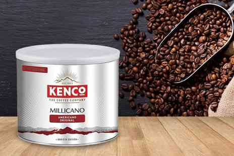 Euro Coffee Pods - 500g tin of Kenco Millicano whole bean instant coffee - Save 67%