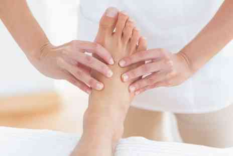 SJB Aesthetics - 60 Minute Reflexology Treatment with Optional 30 Minute Indian Head Massage - Save 65%