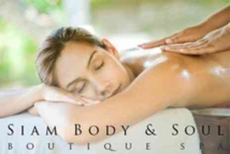 Siam Body & Soul - One Hour Aromatherapy Massage - Save 61%
