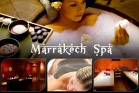 Marrakech Spa - Spa Package For Two With Exfoliation, Mud Treatment, and Full Body Massage - Save 58%