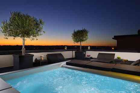 Hotel Pulitzer Roma - Four Star Stylish Design Hotel with Rooftop Hot Tub for two - Save 80%