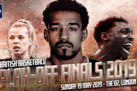 British Basketball League - British Basketball Play off Finals Live Unmissable Action for All Ages - Save 27%