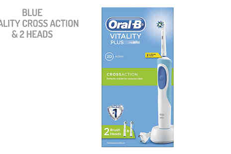 Electric Mania - OralB Vitality Electric Toothbrush Choose Five Styles and Optional Replacement Heads - Save 51%